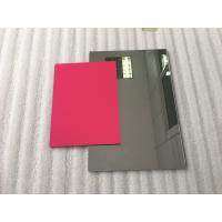 Buy cheap Pearl Red ACP Aluminium Composite Panel Sheets Lightweight With PVDF Painting product