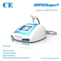 Buy cheap HIFUShape® HIFU Waist Circumference Reduction Machine NBW-HIFU100 from wholesalers