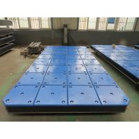 Buy cheap UHMW PE Sliding & Panel Rubber Marine Boat Fenders Dock Plate from wholesalers