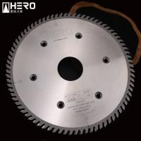 Buy cheap Reinforcing Wood Cutting Saw Blade , Fine Tooth Carbide Blade High Precision from wholesalers