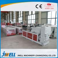 Buy cheap Jwell sound insulation pvc semi-skinning foam board extrusion line for housing and office from wholesalers