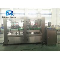 Buy cheap High Effficiency Liquid Filling Line  4 In 1  Small Bottling Equipment from wholesalers