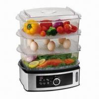 Buy cheap Food Steamer with Stainless Steel Housing and 3 Layers from wholesalers