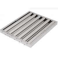 Buy cheap U type grease baffle filter for commercial kitchen 16*16*2 from wholesalers