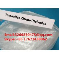 Buy cheap High Purity Cancer Treatment Steroids powder Tamoxifen Citrate Nolvadex With Factory Price from wholesalers