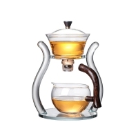 Buy cheap Factory direct wholesale creative high borosilicate glass tea sets from wholesalers