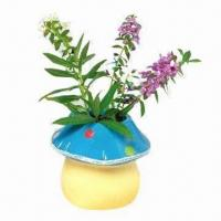 Buy cheap DIY garden pot with seeds, measures 9 x 8.5 x 8cm from wholesalers
