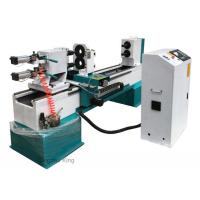 Buy cheap Double turning spindles CNC wood working lathe high quality cnc wood lathe from wholesalers