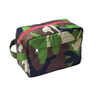 Portable Eco - Friendly Cotton Mens Hanging Toiletry BagFor Travelling Customized