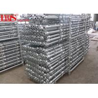 Buy cheap 150cm Carbon Steel Cuplock Scaffolding System 80μM-100μM HDG Thickness from wholesalers