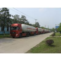 Buy cheap Natural Gas Transport Semi Traile 56m3 With Double Valve Boxes from wholesalers