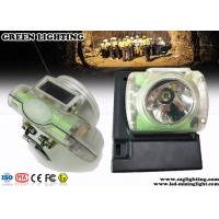 Buy cheap 13000 Lux  Rechargeable Led Headlamp with USB Charger OLED Screen from wholesalers