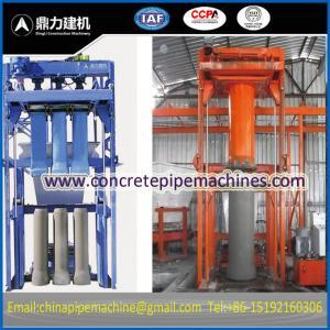 China concrete pipe machine on sale