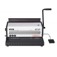 Buy cheap Wire O Spiral Spiral Coil Binding Machine Manual Heavy Duty Punching from wholesalers