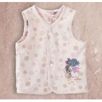 Buy cheap Jersey Baby Tank Tops , Custom Relaxed Cotton Clothes For Babies from wholesalers