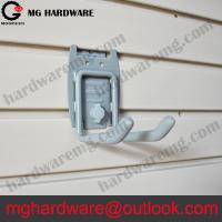 Buy cheap 4 Muti-purpose tools holder work hook for slatwall | Double hook from wholesalers