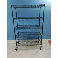 Buy cheap Wire Shelves, Shelving, Carts & Racks | Wire Shelves Wire Shelving China 5 Tier Epoxy Heavy Duty Wire Shelving for Cold from wholesalers