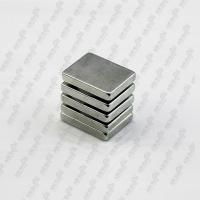 Buy cheap Widely use of N35 Ni coating rectangular ndfeb magnet from wholesalers
