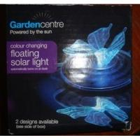 Buy cheap Beautiful butterfly Dragonfly color changing graden led floating solar light lawn lighting from wholesalers