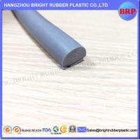 Buy cheap China Manufacturer Grey Customized High Quality OEM Silicone Rubber Extrusion Sponge With 3M Tape from wholesalers