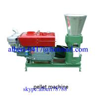 Buy cheap Diesel engine wood pellet machine from wholesalers