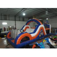 Buy cheap Inflatable Pirate Obstacle Course Jump House , Games Obstacle Course Bouncer 8 X 4 X 3.5m from wholesalers