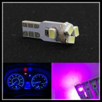 Buy cheap T5 Dash 3020 5SMD T5 LED Car Wedge Dashboard Instrument Light Bulbs white purple blue from wholesalers