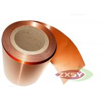 Buy cheap Adhesive Rolled Insulated Professional Copper Foil Roll Polished from wholesalers