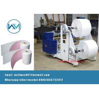 Buy cheap 2Ply/two roll Carbonless Paper/Thermal Paper Roll Slitting Rewinder Machine Manufacturer in China from wholesalers