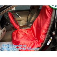 Buy cheap car seat cover/FABRIC seat cover/non-woven car seat cover,Auto Repair Disposable Plastic Car Seat Cover Suppliers and Ma from wholesalers