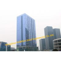 Buy cheap EPC Project Multi-Storey Steel Building For Modern Glass Curtain Wall Office Building from wholesalers