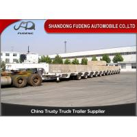 Buy cheap 100 - 250 Tons Heavy Equipment Lowboy Trailer , Multi Axles Low Bed Trailer from wholesalers