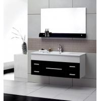 Buy cheap 4mm silver glass mirror modern wall mounted bathroom vanities 32 inch plywood from wholesalers