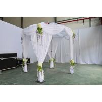 Buy cheap cheap pipe and drape kits unique wedding decor wedding tent curtains used aluminum pipe wedding decoration event luxury from wholesalers