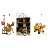 Buy cheap self loading concrete mixer with lifter one bag cement mixer BETONNIERE CONVOYEUR 510LITRES from wholesalers