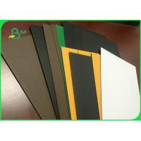 Buy cheap Colorful FSC 300gsm to 2600gsm Grey Board Cardboard Sheets For Lever Arch File from wholesalers