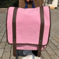 Buy cheap Large Custom Canvas Backpacks with Polyester Handle CMYK Color product
