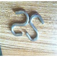 Buy cheap Stamping Process 304/316 Stainless Steel S Hooks , Small S Shaped Hooks from wholesalers