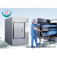 Buy cheap Double Door Safety Lock Pharmaceutical Autoclave With Colored Touch Screen from wholesalers
