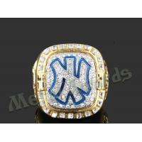 Buy cheap High End Zinc Alloy Ring New York Yankees Rings For Men UV Resistant from wholesalers