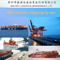 Buy cheap logistics fba shipping from Shanghai professional Amazon cargo agent service in China from wholesalers