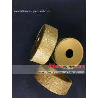 Buy cheap Vacuum brazed diamond grinding wheel for stone products Sarah@moresuperhard.com from wholesalers
