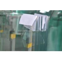 Buy cheap Coated Pvb Resin Tempered Safety Glass Impact Resistance , Heat Strengthened Glass from Wholesalers