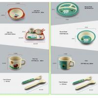 Buy cheap BIO-DEGRADABLE BAMBOO FIBER KIDS DINNERWARE, DISHWASHER SAFE, HEALTHY, from wholesalers