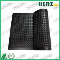 Buy cheap Weight 1.8 / 3kg ESD Rubber Mat / Anti Fatigue Floor Mats Surface Resistance 10e3-10e9 Ohm from wholesalers