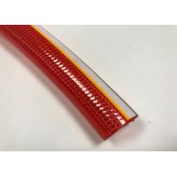 Buy cheap No Torsion PVC Braided Hose High Intensity Polyester Fiber Reinforced Hose from wholesalers