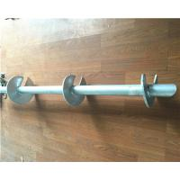 Buy cheap Hot Dip Galvanized Helical Pile Foundations Ground Screw Pole Anchor from wholesalers