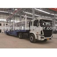 Buy cheap Goose Neck Car Carrier Truck , ABS Automobile Transport Trailers 14200KG Payload from wholesalers