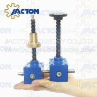 Buy cheap acme screw jack geared right angle Worm screw jack screw jack lifting platform 2500kg hydraulic hand pallet jack from wholesalers
