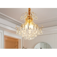 Buy cheap 30*35cm / 40*45cm / 55*58cm Simple E14 Ceiling Candle Chandelier For Hotel from wholesalers